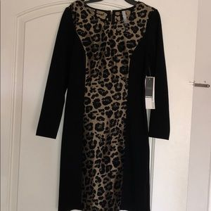 Beautiful dress leopard prints